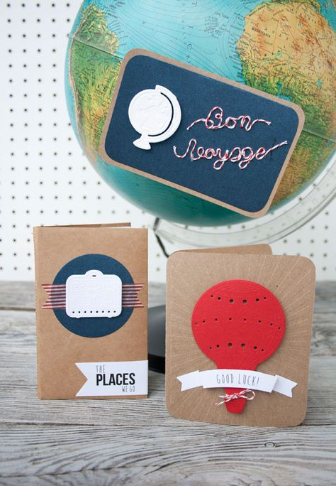 Perfect cut & emboss #Detailz dies for all your traveling adventures