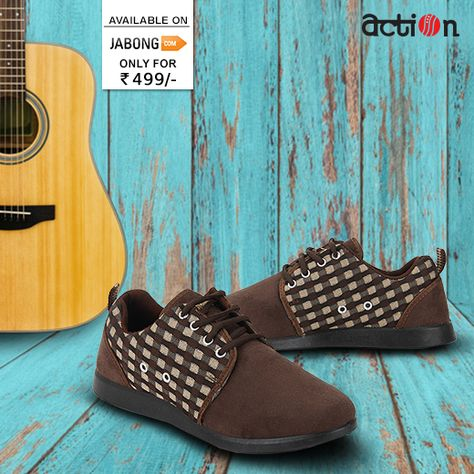 0dd81b335 Get effortless styling in this cool   trendy pair. Grab it at Jabong ...