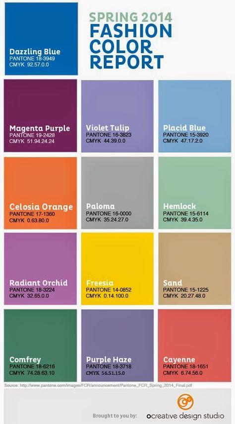 color palette spring 2014