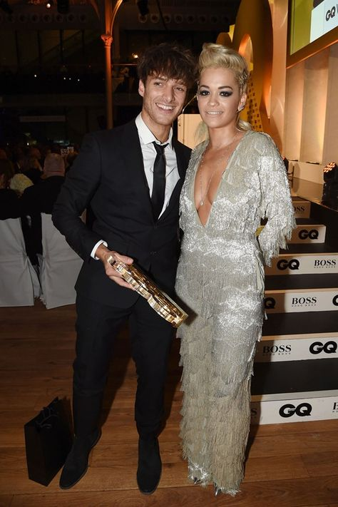 Ellie Goulding In Ermanno Scervino - 2014 GQ Men of the