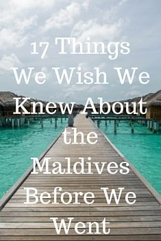 The Maldives are the stuff dreams are made of -- as in dream vacations inspired by those impossibly idyllic screen savers, or those pesky fantasies about quitting your day job to live on an exotic island for the rest of your life (or at least a week or two). You know, the places that can't possibly live up to your expectations of beauty and wonder. Well, we found out that the crazy thing about the Maldives is, this destination does. This place really looks exactly like those stock images flo