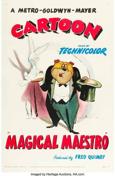 Magical Maestro (MGM, 1952). One Sheet (27