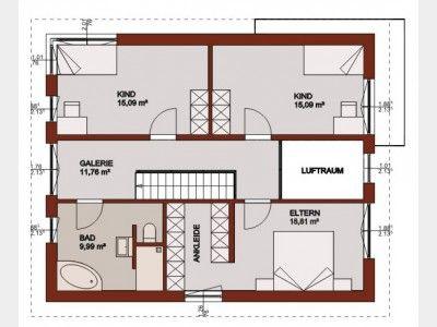 Wir-leben-Haus Konzepthaus_11 house plans Pinterest Haus and