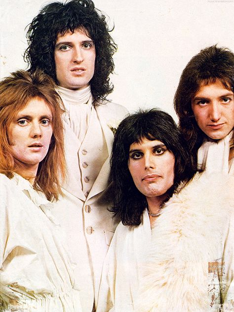"""Queen – 1973 Photo by Mick Rock """""""