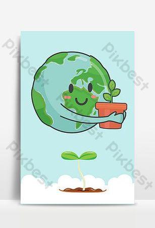 605 الطبيعة الخضراء يوم البيئة العالمي ملصق الخلفية خلفيات Ai تحميل مجاني Pikbest In 2021 World Environment Day Posters World Environment Day Green Nature