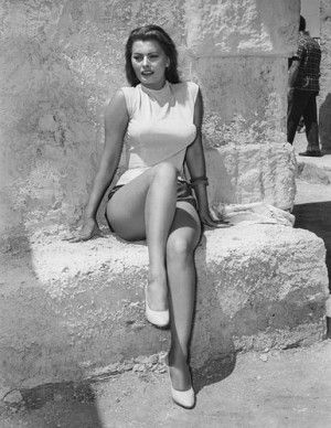 Remember when they were young:Sophia Loren list
