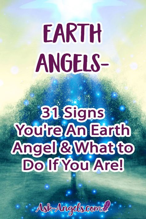 Earth Angels are called at the soul level to help others, spread kindness, have compassion and make a difference on Earth. Are you an Earth Angel? Find out! #earthangels #spiritual
