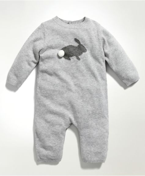 So, I've discovered Mamas & Papas... Unisex Welcome To The World Knitted Bunny Romper