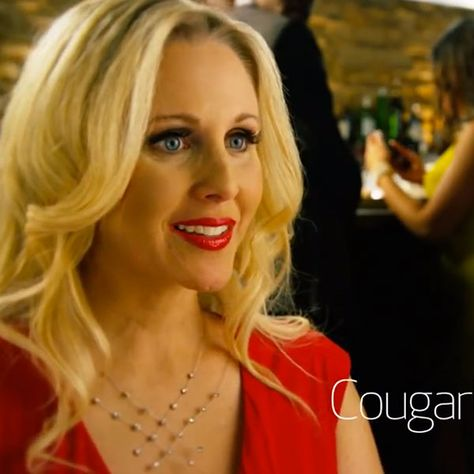 Commercial In Life Who The Cougar Blonde The Is