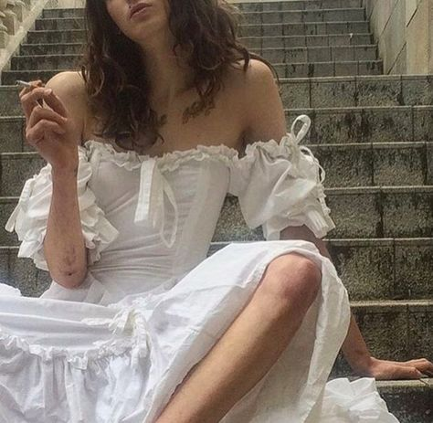 Swans Style is the top online fashion store for women. Shop sexy club dresses, jeans, shoes, bodysuits, skirts and more. Accesorios Casual, Princess Aesthetic, Aesthetic Girl, White Dress Summer, Summer Dresses, Mode Chic, Carrie Bradshaw, Aesthetic Clothes, The Dress