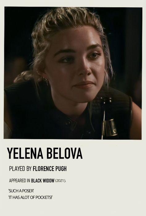 Yelena Belova Polaroid by Bela