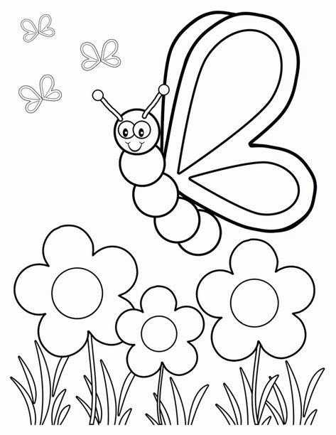 Kelebek Boyama Resimleri4 Boyama Sayfalari Kelebekler Adult Coloring Pages