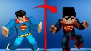 Roblox Vs Fortnite Picture All New Fortnite Dances In Roblox Vs Minecraft Superman Vs Superman Fortnite Roblox Superman