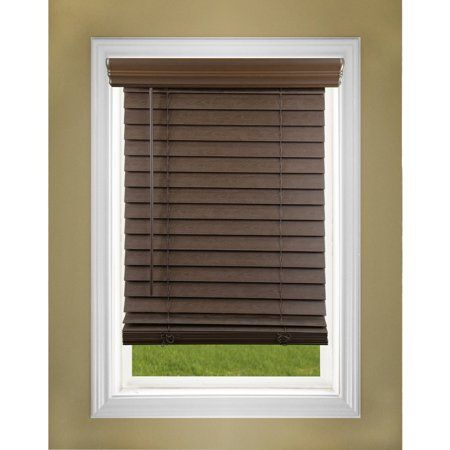 Allen Roth 2 5 In White Faux Wood Room Darkening Horizontal Blinds 13 97 Lowes Com Wooden Window Blinds White Faux Wood Blinds Horizontal Blinds