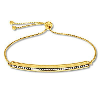 Crafted In 10 Karat Yellow Gold This Stylish Bolo Bracelet Features A Gold Bar With A Textured Center Focal Point Making T Yellow Gold Gold Bracelets For Men