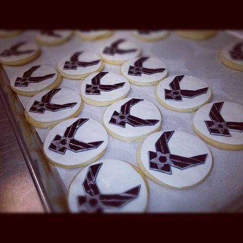 US Air Force cookies