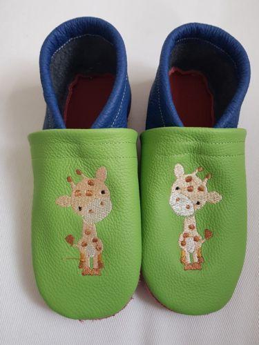 buy online 25337 1dead Selbst-genaehte-Lederpuschen-gr-29-30 | Embroidery ...