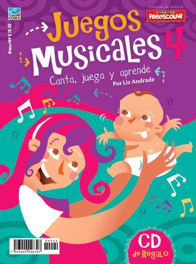Juegos Musicales N 4 Educacion Musical Enseñanza Musical Música Preescolar
