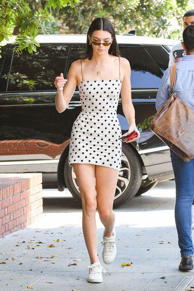 Pour la morphologie en V : Kendall Jenner