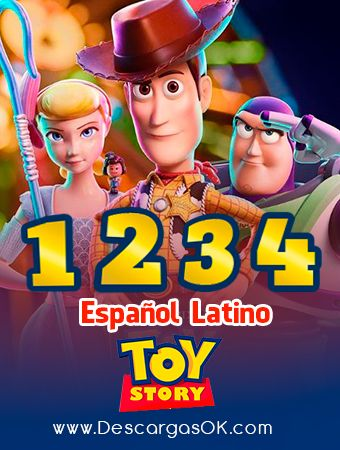 Toy Story 1 2 3 Y 4 Latino Mega Anonfiles 1ficher Pelicula Toy Story Toy Story Peliculas