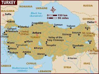 Turkey Tourism Turkey Tourism Turkey Map Turkey Tour