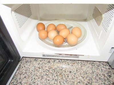 hard boiled egg microwave eggs