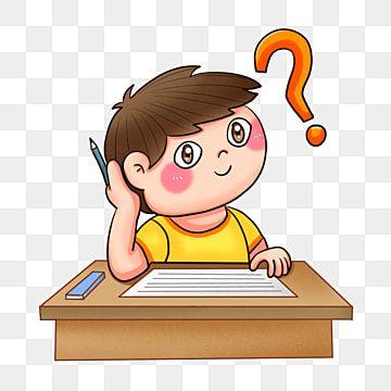 كرتون طالب في المرحلة الابتدائية يفكر في مشاكل بابوا نيو غينيا خلفية شفافة مشكلة مشكلة كرتون طالب علم Png وملف Psd للتحميل مجانا In 2021 Student Cartoon Preschool Kids Elementary School Students