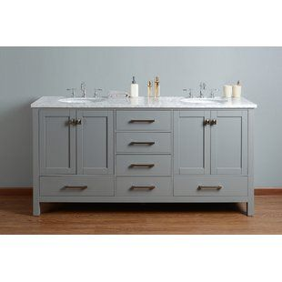 Double Sink Bathroom Vanity 6 Ft