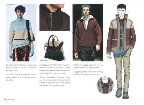Fashion Box Men's Knitwear A/W 2017/2018 | mode...information GmbH Fashion Trend Forecasting and Analysis