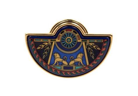 A Frey Wille Egyptian Motif Pendant, 2 x 1.5.