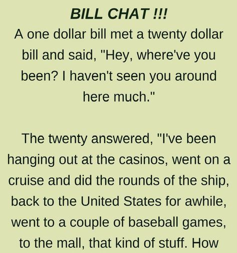 Bill Chat Funny Story Funny Stories Funny Quotes Wife Jokes