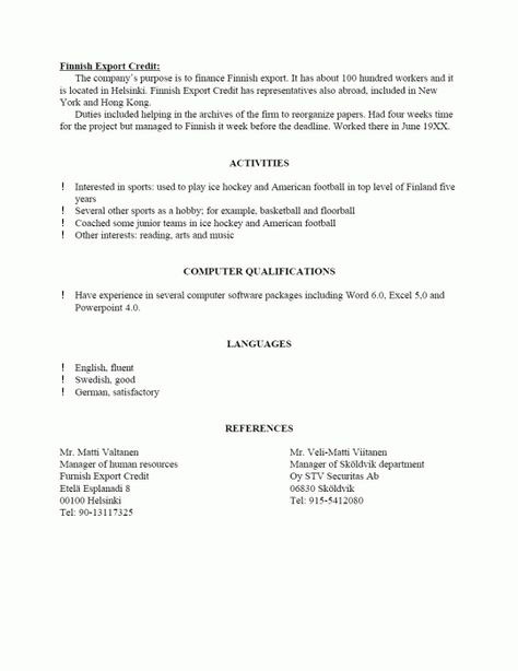 References In Resume How To Write How To Write References In A Resume Reference Page For Resume Sample Resume Templates Resume References