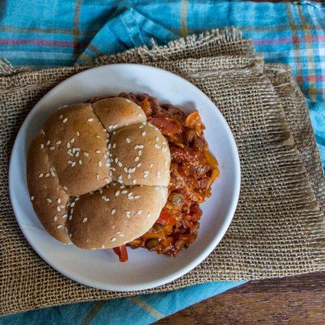 Vegan Lentil Sloppy Joes #weekdaysupper #mcskilletsauce from @wimpyvegetarian