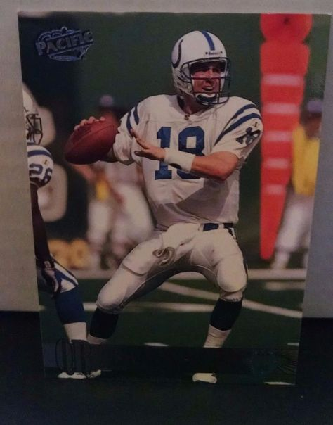 1998 Pacific #181 Peyton Manning Rookie Card Team: Indianapolis Colts #IndianapolisColts