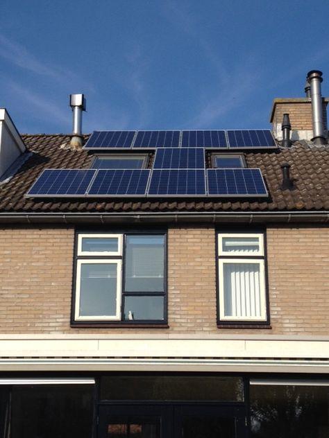 9x Bisol 255wp Poly Met Enphase Micro Omvormers En Van Der Valk Solar Schuin Dak Montage Dak Projecten
