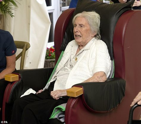 Introduced to Joan Drew-Smith, 87, (pictured) who made headlines in May when she said the ...