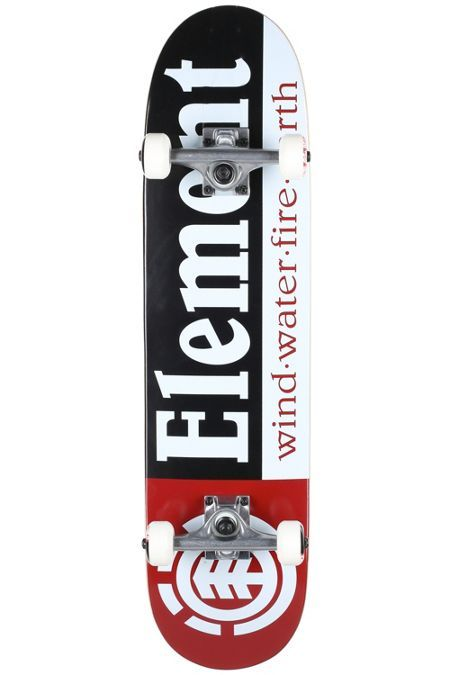 Element Section Black Complete Skateboard 7 5 X 31 25 Complete Skateboards Cool Skateboards Best Skateboard Decks