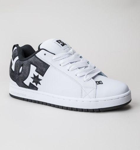 DC Court Graffik SE White-Grey-Black