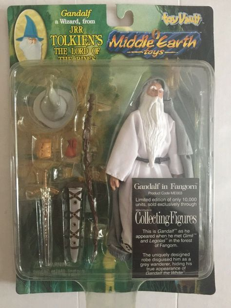 Tolkiens The Lord of the Rings Middle-earth Toys J.R.R Gimli of the Fellowship Toy Vault