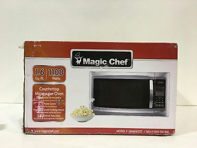 Microwave Ovens 150140 Magic Chef Hmm1611st 1 6 Cu Ft