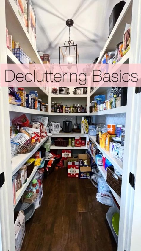 Get back to basics & see how to DIY a pantry