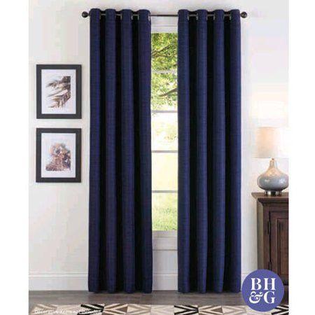 87701fe6eec52a8427111fd9bafb8505 - Better Homes And Gardens Basketweave Curtain Panel Aqua