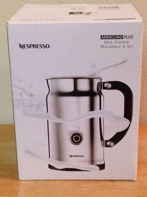 Nespresso Aeroccino Plus 3192 Stainless Steel Milk Frother Warmer