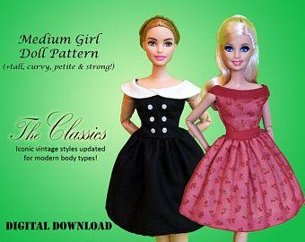 "Handmade~Doll bodysuit for 12/"" Doll~ Barbie,Move barbie,Tall barbie Muse barbie"
