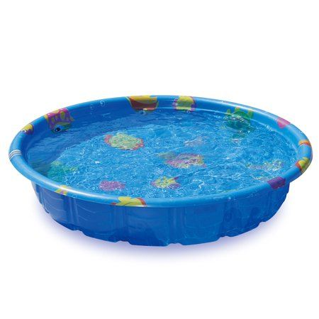 59 Blue Molded Pool Walmart Com In 2020 Plastic Swimming Pool