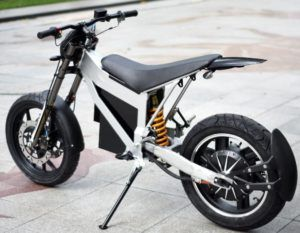 Super Powered 20 Kw Electric Motorcycle By Taiwan Cyclone Motors