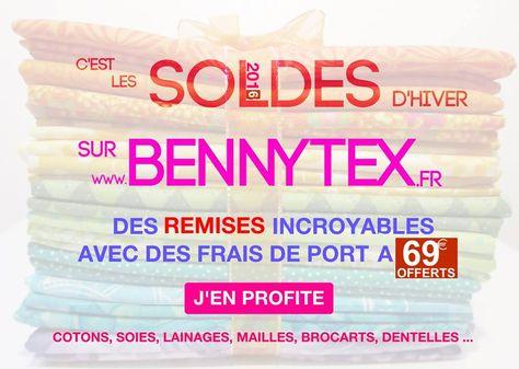 Bennytex, spécialiste de la vente de tissu pas cher au mètre, coupons, vous propose une sélection d'articles de grande qualité à des prix exceptionnels pour toutes vos créations et réalisation de vos travaux de couture.