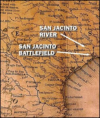 Best Battle Reenactments Images On Pinterest San Jacinto - Battle of san jacinto map us