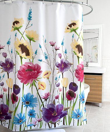 Loving This Contemporary Prisma Shower Curtain On Zulily