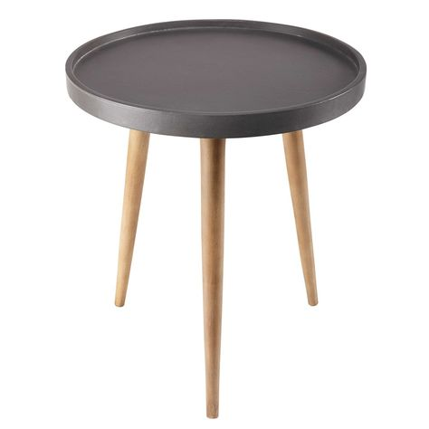 Tavolini Maison Du Monde.Beistelltisch In Zementoptik Fure D Tavolini Salotto Soggiorno